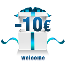 Promotion - 10 € - Welcome