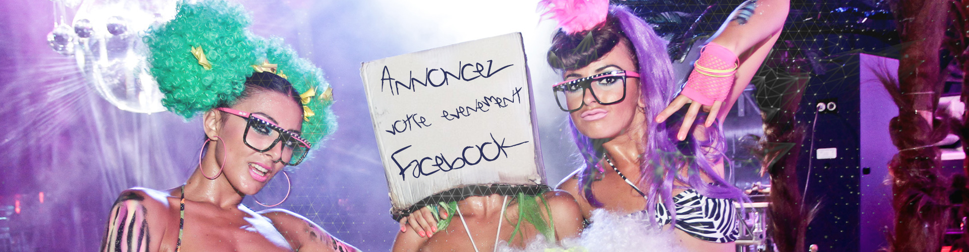 Votre événement sur Facebook